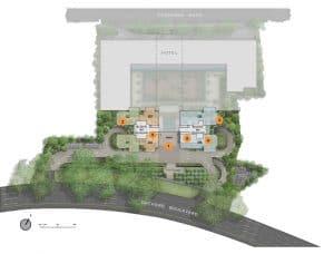 Boulevard 88 Site Plan