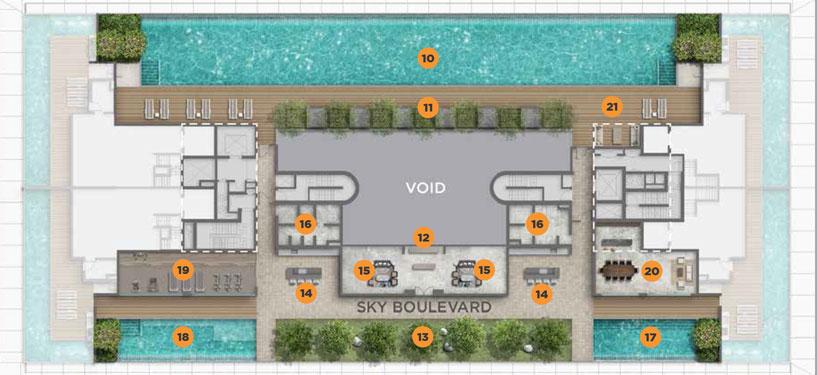 boulevard-88-site-plan-singapore